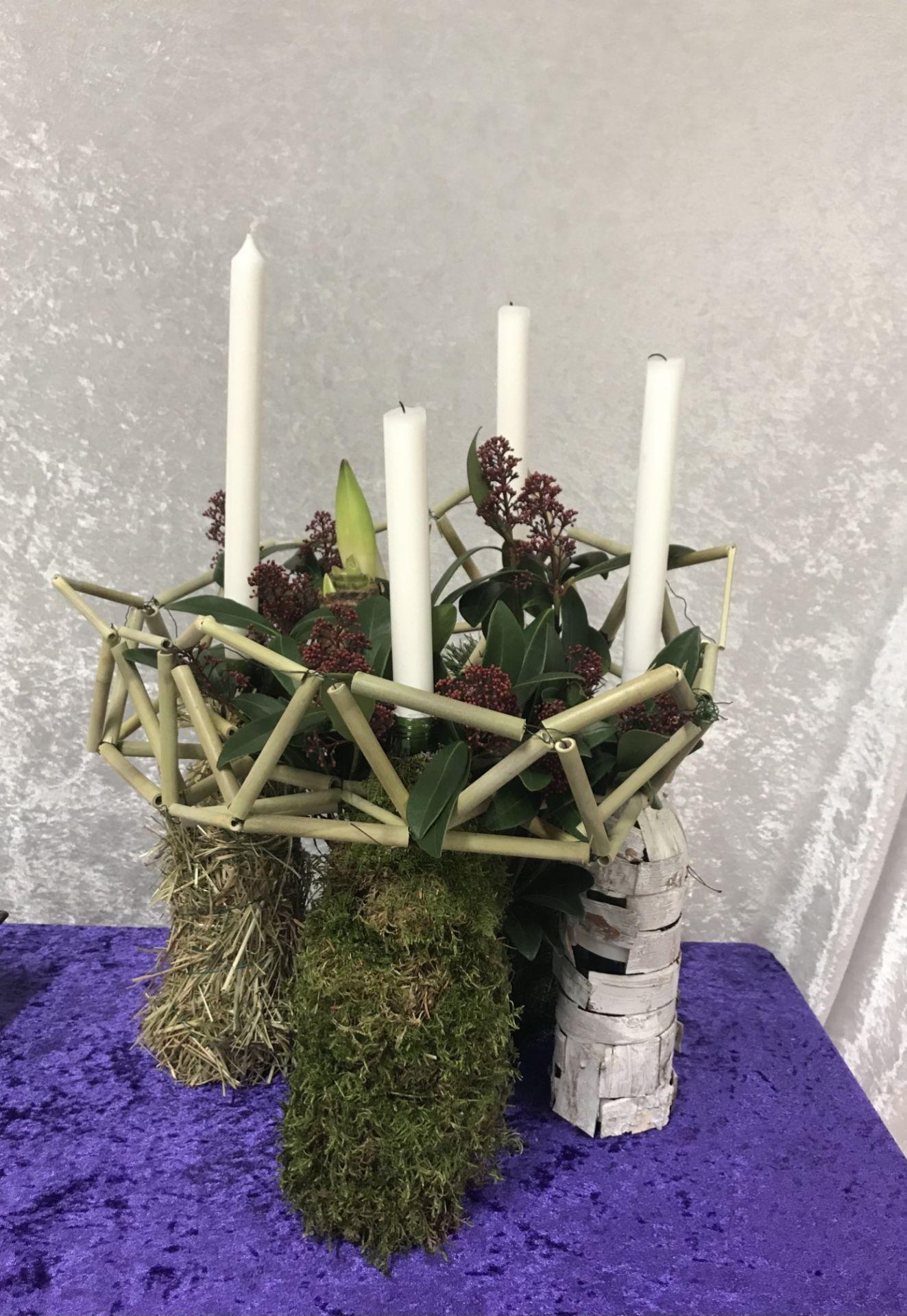 Symbolische schikking Advent en Kerst 2020
