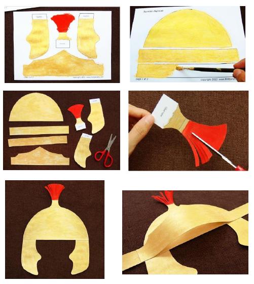 Voor de kinderen: Helm en zwaard